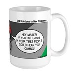 Electric Car Fix Large Mug