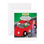 Electric Car Fix Greeting Cards (Pk of 10)