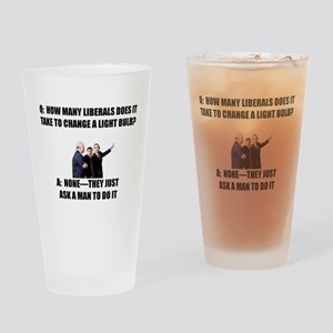 Ask a Man Drinking Glass