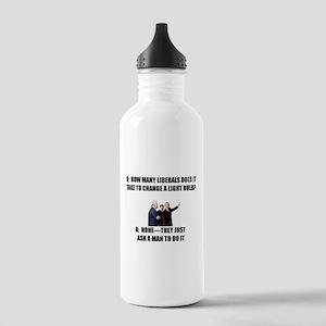 Ask a Man Water Bottle