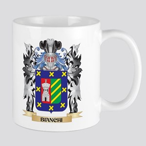 Bianchi Coat of Arms - Family Crest Mugs