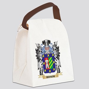 Bianchi Coat of Arms - Family Cre Canvas Lunch Bag