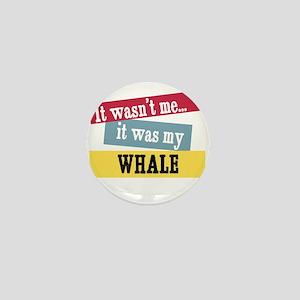 Whale Mini Button