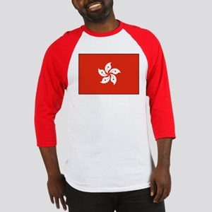 Hong Kong Flag Baseball Jersey