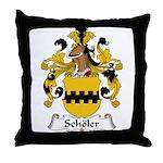Scholer Family Crest Throw Pillow