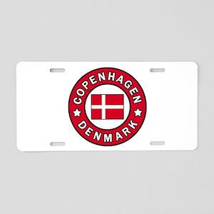 Copenhagen Aluminum License Plate