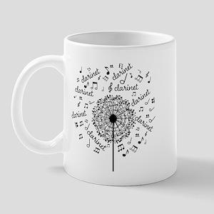 Clarinet Player Music Mugs