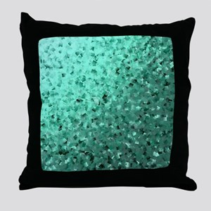 modern digital abstractes pattern in Throw Pillow