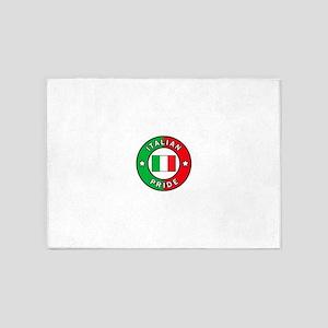 Italian Pride 5'x7'Area Rug