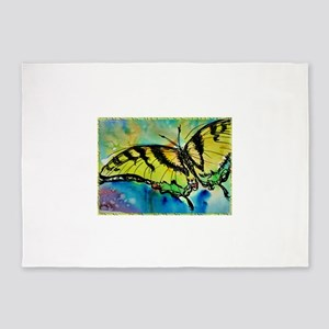 Butterfly! Swallowtail butterfly, art! 5'x7'Area R