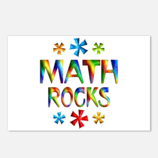 Math Rocks! Postcards (Package of 8)