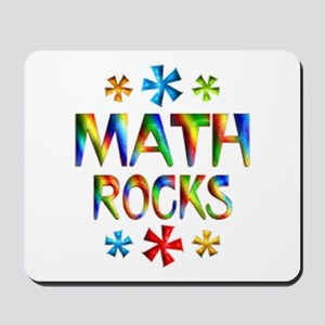 Math Rocks! Mousepad