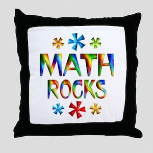 Math Rocks! Throw Pillow