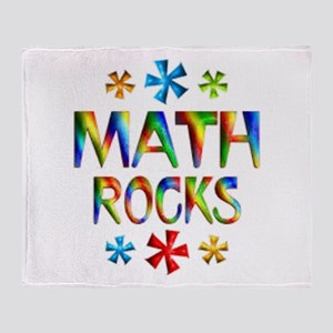 Math Rocks! Throw Blanket