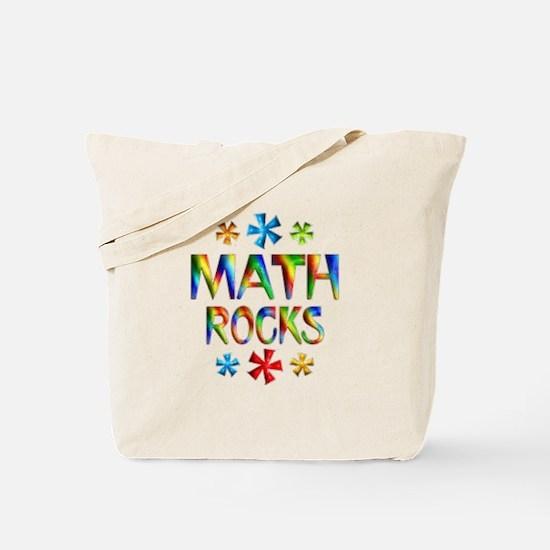 Math Rocks! Tote Bag