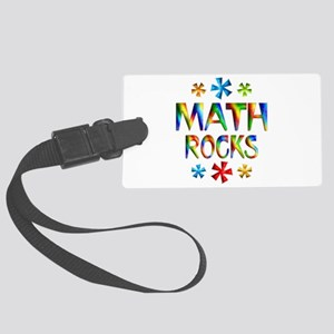 Math Rocks! Large Luggage Tag