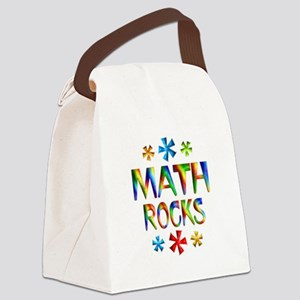Math Rocks! Canvas Lunch Bag