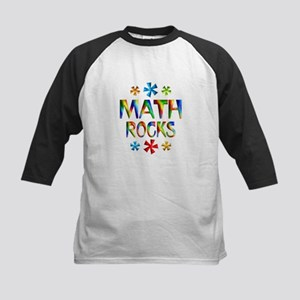 Math Rocks! Kids Baseball Jersey