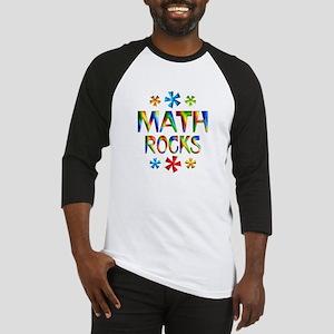 Math Rocks! Baseball Jersey