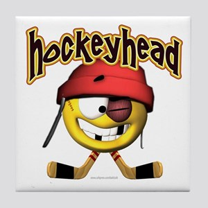 HockeyHead... Tile Coaster