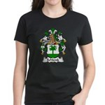 Schlenk Family Crest Women's Dark T-Shirt