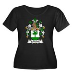 Schlenk Family Crest Women's Plus Size Scoop Neck