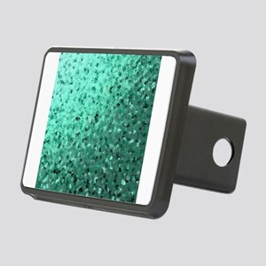 modern digital abstractes Rectangular Hitch Cover
