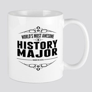 Worlds Most Awesome History Major Mugs