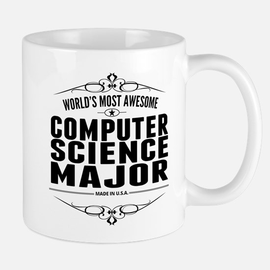 Worlds Most Awesome Computer Science Major Mugs