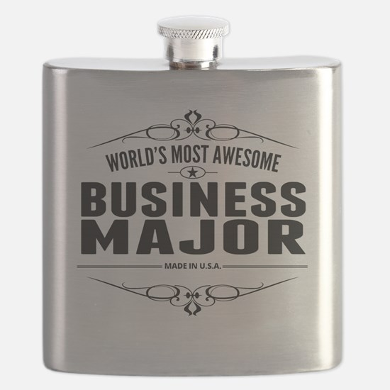 Worlds Most Awesome Business Major Flask