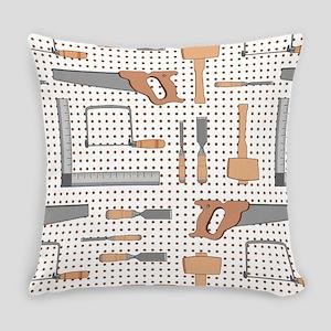 Woodshop Everyday Pillow