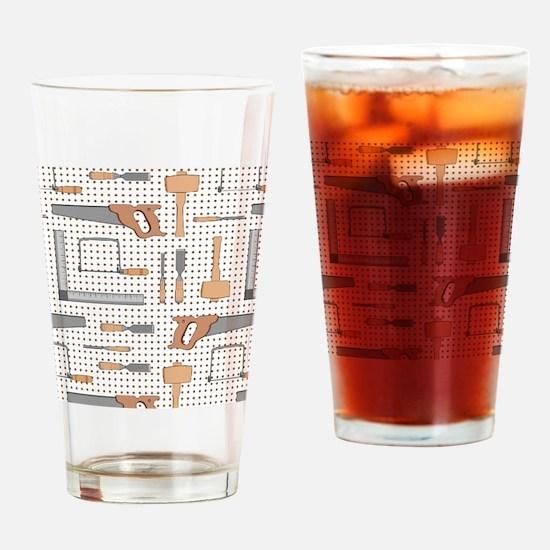 Woodshop Drinking Glass
