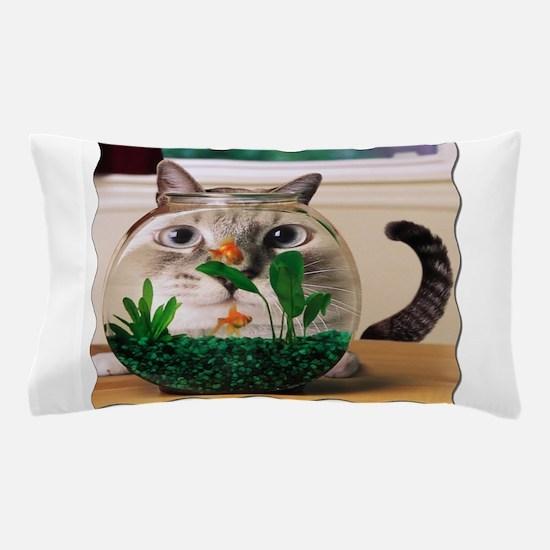 Cute Fishbowl Pillow Case