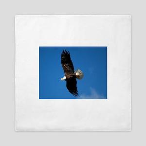 Eagle soaring Queen Duvet