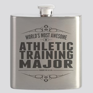 Worlds Most Awesome Athletic Training Major Flask