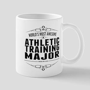 Worlds Most Awesome Athletic Training Major Mugs