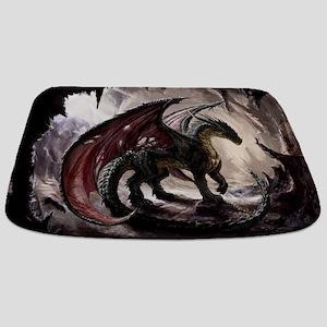 Dragon In Cave Bathmat