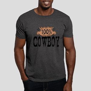 100% Cowboy Dark T-Shirt