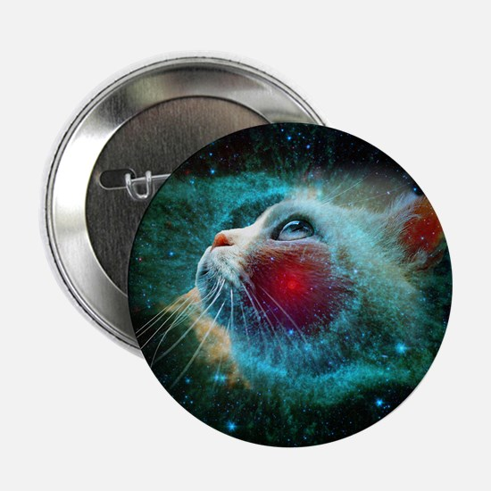 """space cat 2.25"""" Button"""