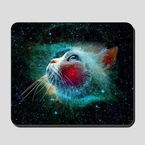 space cat Mousepad