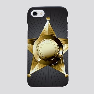 Sheriff Star iPhone 7 Tough Case