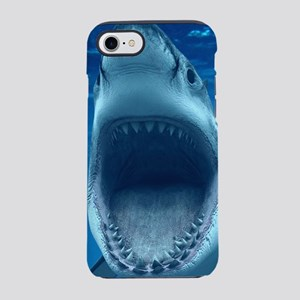 Big White Shark Jaws iPhone 7 Tough Case