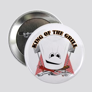 "Chef Hat and BBQ Tools 2.25"" Button"