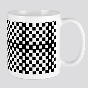 Optical Illusion Checkerboard Mugs