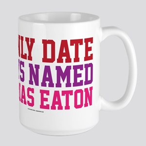 I Only Date Boys Named Tobias Eaton Mugs