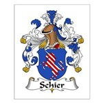 Schier Family Crest Small Poster
