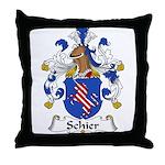 Schier Family Crest Throw Pillow