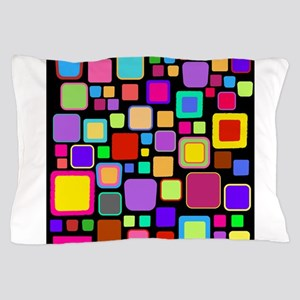 square pattern Pillow Case