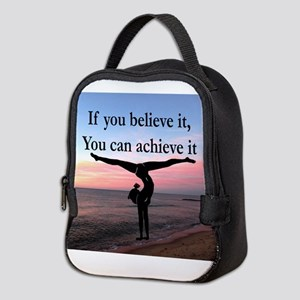 GYMNAST INSPIRATION Neoprene Lunch Bag