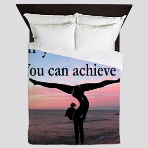 GYMNAST INSPIRATION Queen Duvet